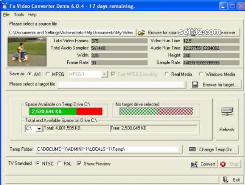 Fx Video Converter Screenshot 3