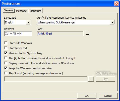 QuickMessenger Screenshot 3