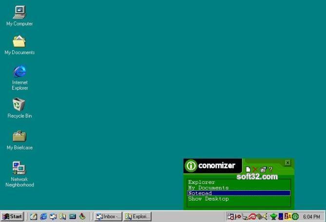 Iconomizer Screenshot 2