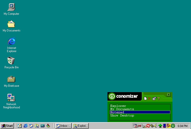 Iconomizer Screenshot