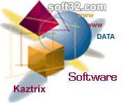 kaztrix DataBuilder Screenshot 2