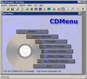 CDMenu Screenshot