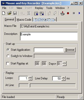 Mouse and Key Recorder Screenshot 3