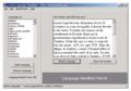Language Identifier 1