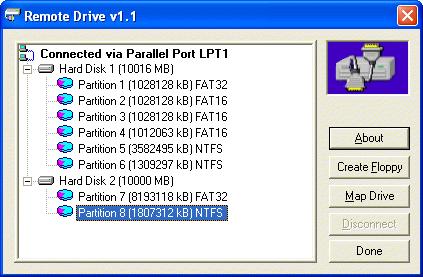 REMOTE DRiVE Screenshot