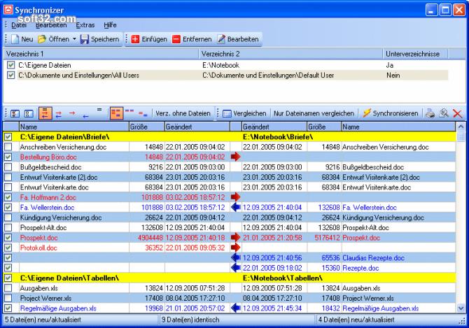 Synchronizer Screenshot 3
