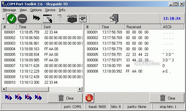 COM Port Toolkit Screenshot 3