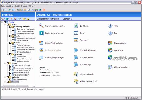 AllSync Screenshot 2
