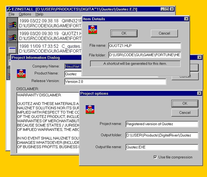 EzInstall Screenshot