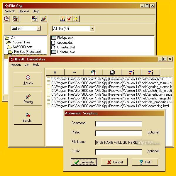 File Spy Screenshot 1