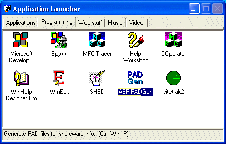 AppLaunch Screenshot 1