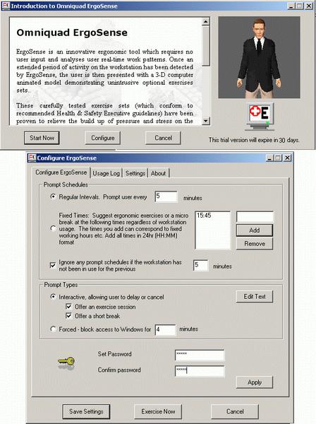 Omniquad ErgoSense Screenshot 1