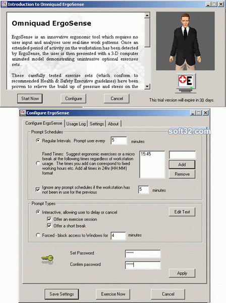 Omniquad ErgoSense Screenshot 2