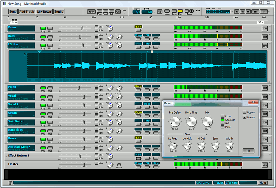 MultitrackStudio Lite Screenshot