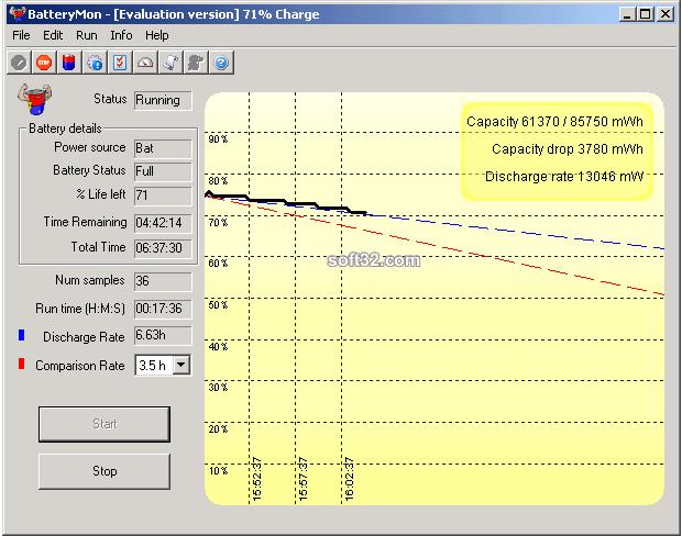 BatteryMon Screenshot 2