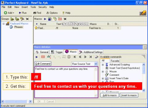 Perfect Keyboard Professional Screenshot 2