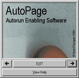 AutoPage Screenshot