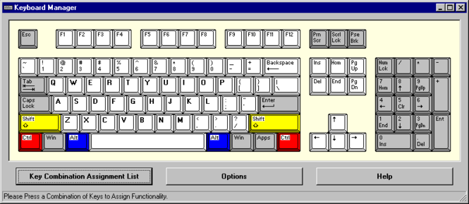 Keyboard Manager Deluxe Screenshot