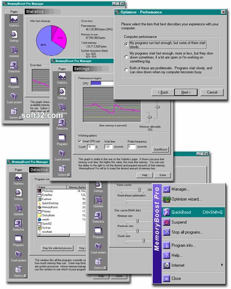 MemoryBoost Pro Screenshot 2