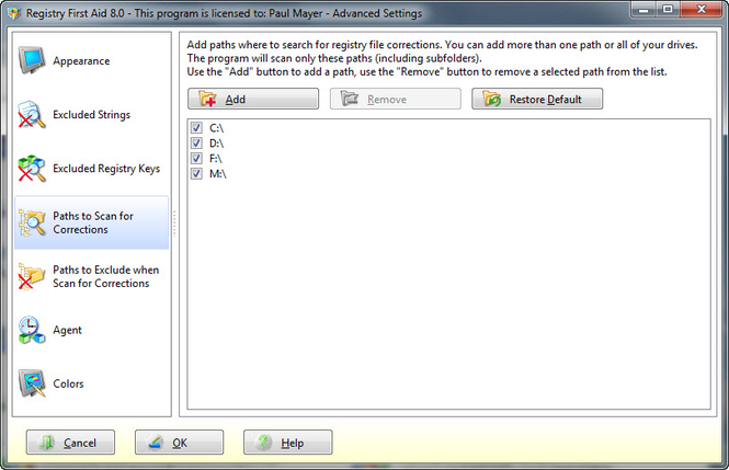 Registry First Aid Screenshot 4