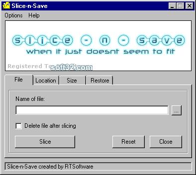 Slice-n-Save Screenshot 2