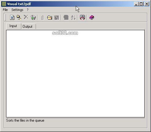 txt2pdf Screenshot 3
