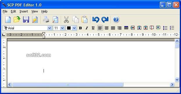 SCP PDF Editor Screenshot 2