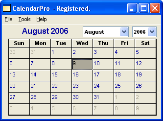 CalendarPro Screenshot 1