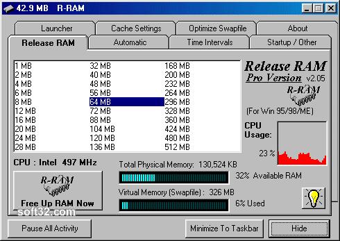 Release RAM Pro Screenshot 3