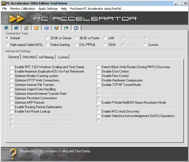 PC Accelerator 2005 Edition Screenshot