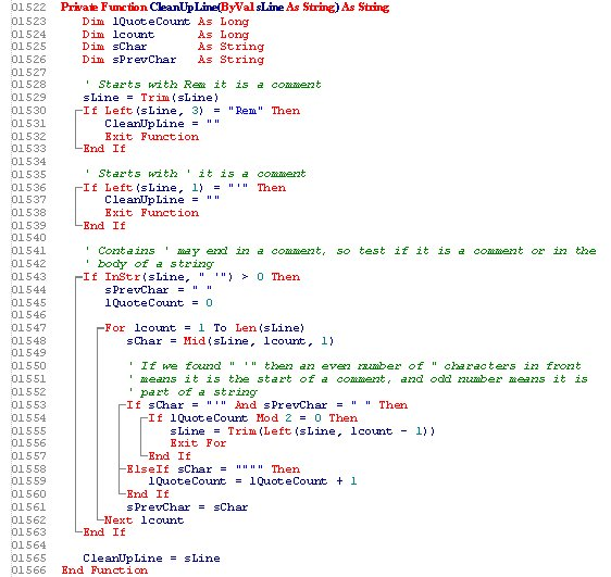 VBcodePrint Screenshot