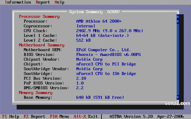 ASTRA - Advanced Sysinfo Tool Screenshot 3
