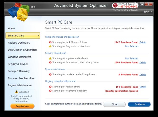 Advanced System Optimizer Screenshot 4