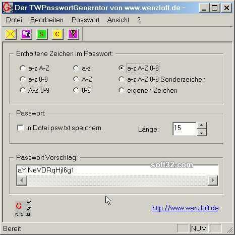 TWPassGen Screenshot 2