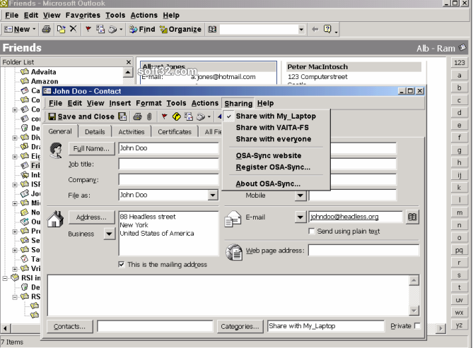 OsaSync Lite Screenshot 2