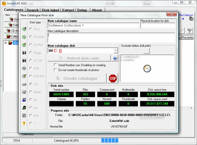 InsideCAT Lite Edition Screenshot 5