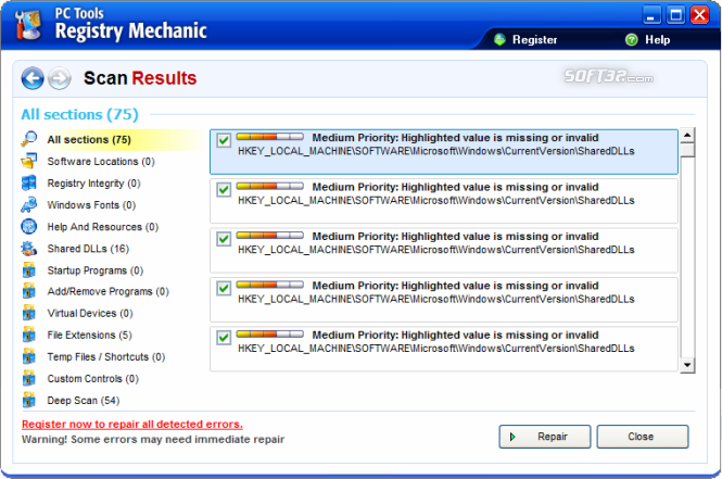 Registry Mechanic Screenshot 3