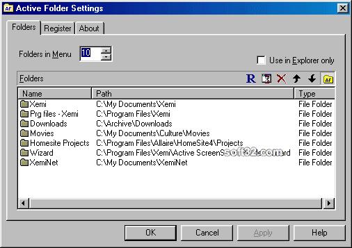 Active Folder Screenshot 2
