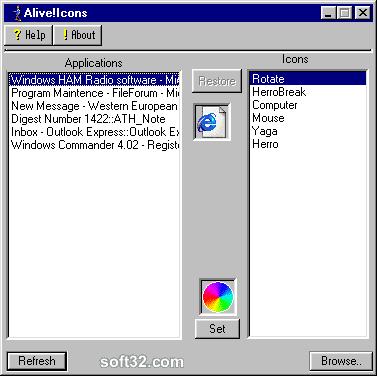 Alive! Icons Screenshot 2