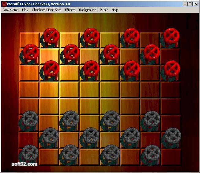Moraff CyberCheckers Screenshot