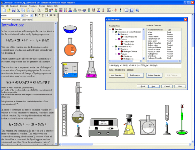 ChemLab Screenshot 1