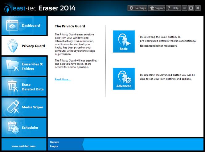 east-tec Eraser 2014 Screenshot 2