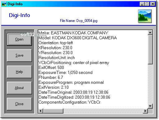 Digi-Info Screenshot 2