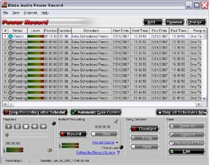 Blaze Audio Power Record Screenshot