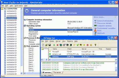 Network Administrator's Toolkit Screenshot