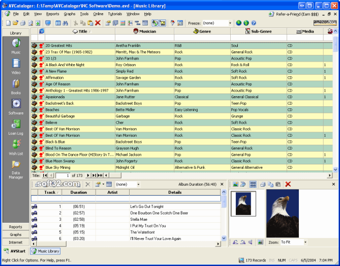 AVCataloger Screenshot
