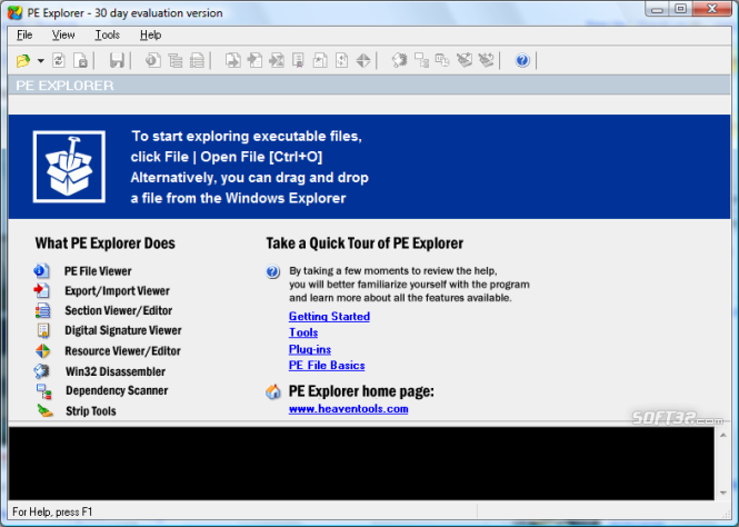 PE Explorer Screenshot 6