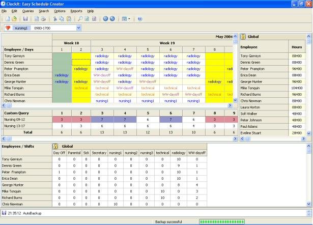 ClockIt: Easy Schedule Creator Screenshot