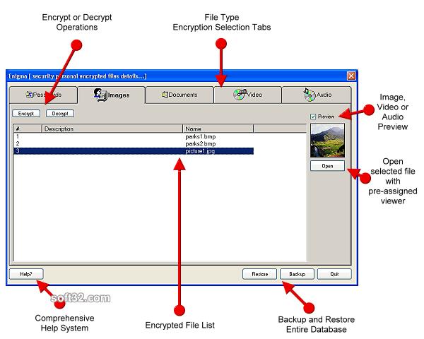 Enigma Screenshot 2