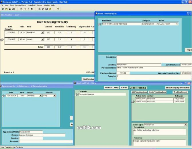 Personal Data Pro Screenshot 3